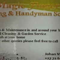 Magic fingers cleaning service and handyman work