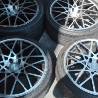 19'' 5/112 Rotiform rims with 225/35/19 tyres
