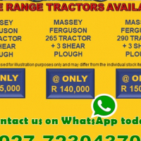 Wide Range Tractors Available !!!