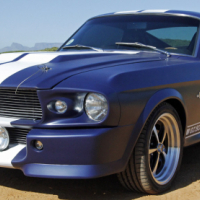 1967 Ford Mustang Shelby GT500 Eleanor Re-creation
