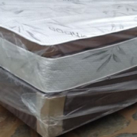 New Restonic Queen size pillowtop bed