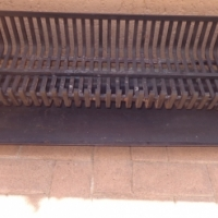 Fire grate and tray