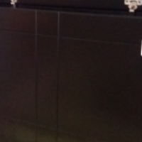 Janel Single Bed Storage Headboard - Black
