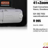 Canon Legria FS306 41×Zoom Camcorder