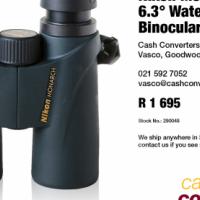 Nikon Monarch 8×42 6.3° Waterproof Binoculars