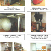 Hot Water Boilers with Unigas Burners x 4