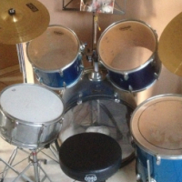 Ludwig (Accent) Drum Set (Complete)