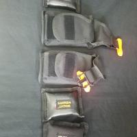 Integrated weight belt