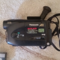 Panasonic Video VHS Camera. Complete With Charger