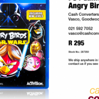 PS4 Game: Angry Birds Star Wars