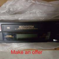 Hitachi multi system VCR.
