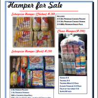 Breakfasts and lunch hampers