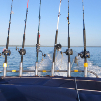 Deep Sea Fishing in the warm Indian Ocean - Mozambique
