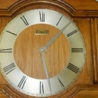 Oak Wood Century Clock Ornament