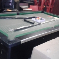 brand new slate top coin operated pool table