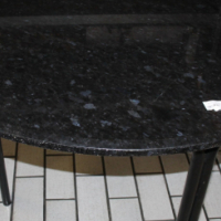 Balck Dining Table S026120a
