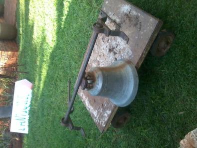 assorted antique slave bells missionary bells