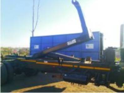 2007 TFM 8TON HOOK LIFT ASSY. IN IMMACULATE CONDIT