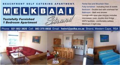 Holiday Accommodation - Strand - Western Cape
