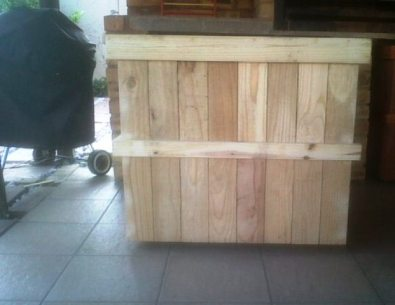 Wood carrier storage box 860 Mobile Raw