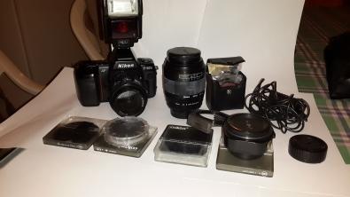Camera ,Nikon F801s AF SLR