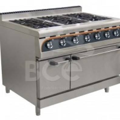 Anvil 6 Burner Combi