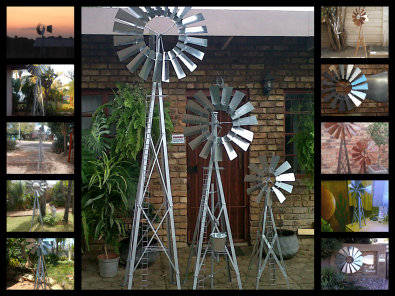 Charmant GARDEN WINDMILLS BRAND NEW FROM R300