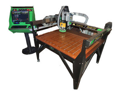 Demo machine CRAFTERS CNC WOOD ROUTER with 12month warranty