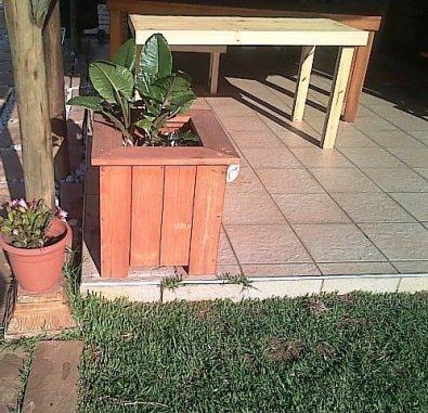Planter box Shenaz series 580 Mini Treated
