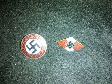 Third Reich German Lapel Badges