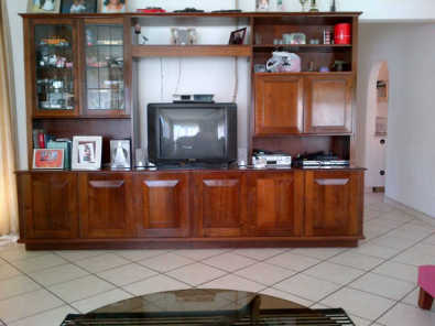 Solid Imbuia TV/Wall Unit for Sale | Junk Mail