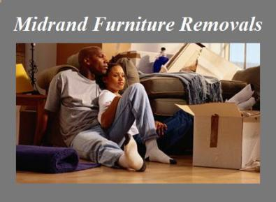 Furniture removals in Midrand 0728683484