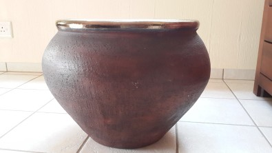 Handmade pots x 4