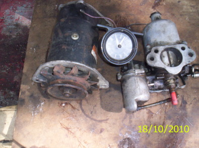 Lucas dynamo plus other rover 2000 spares