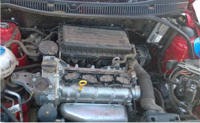Polo 6 1.4 engine and gearbox for sale