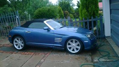 CHRYSLER CROSSFIRE 3