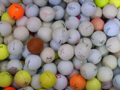 Bulk Sale 100 Used Golf Balls Junk Mail