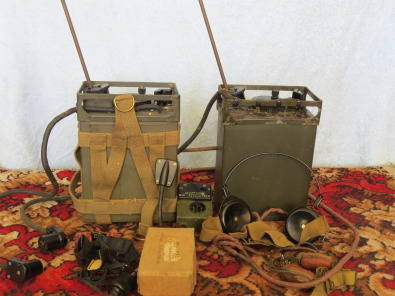 Walkie Talkie Radios Ex Army WW11