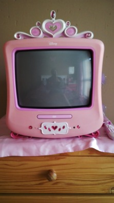 Disney Princess Tv With Built In Dvd Player Junk Mail