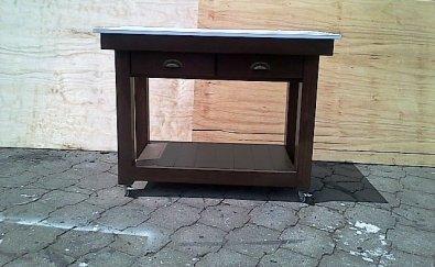 Kitchen Island Farmhouse Elegant series 1170 with drawers