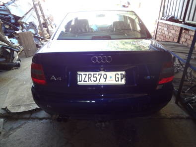 AUDI A4 B5 1.8T STRIPPING FOR SPARES