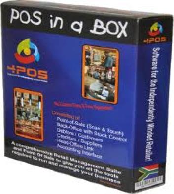 4POS Retails Software,Hardware,+ Training Onsite
