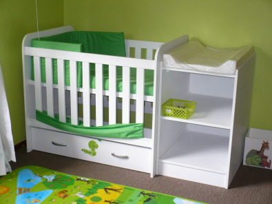New wooden baby, nursery and toddler furniture
