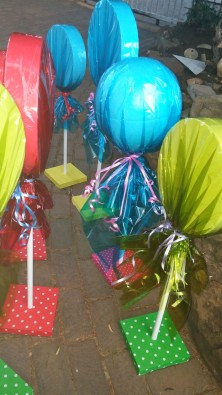 Lollipops to Hire Candyland Theme Party