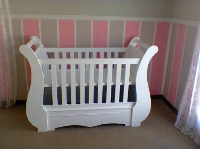 New wooden baby and toddler furniture