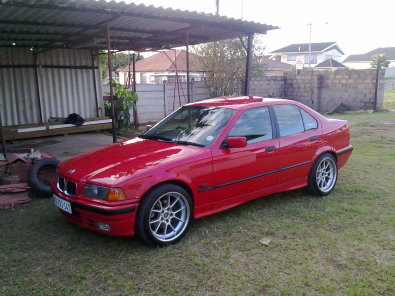 Bmw E36 328i Red Junk Mail