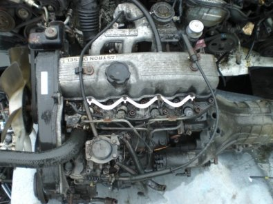 mitsubishi colt 4d56 2 5 diesel engine for sale | Junk Mail