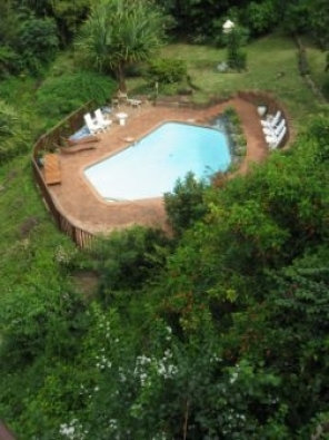 On the waters edge with stunning river and sea views - 2 sleeper holiday villa in Umtentweni