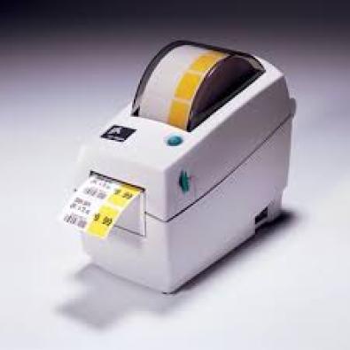 Zebra Lp-2824 Barcode Label Printer Usb