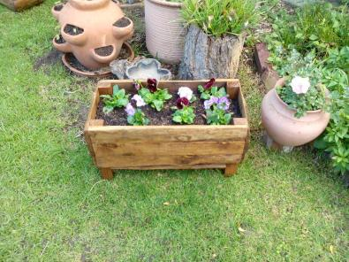 Planter Boxes,Hand made/CCA Treated, Bird Feeder